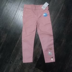 NWT Carter's Pink Jeggings